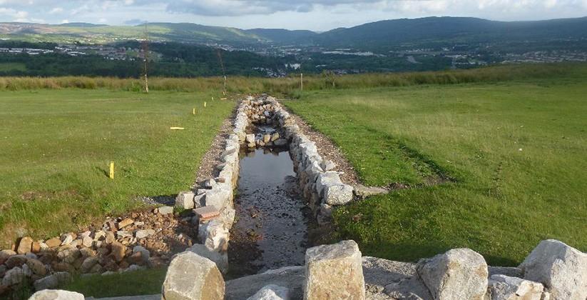Merthyr Tydfil Golf Club Field