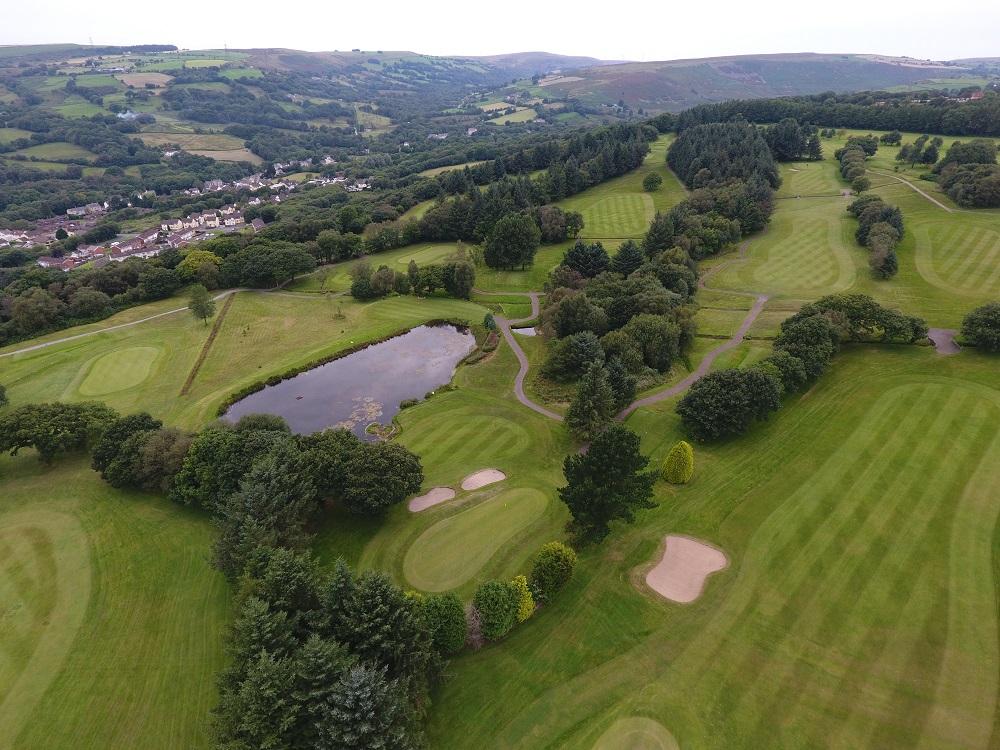 Pontardawe Golf Club FieldPontardawe Golf Club Field