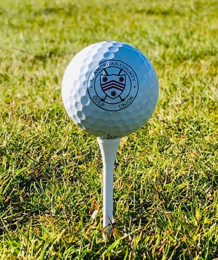 Glamorgan County Golf Ball